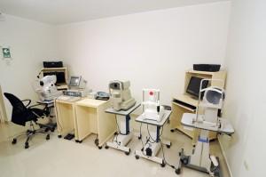 Equipos del Centro oftalmológico Luis Sócola Vela