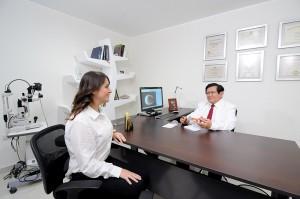 Consulta oftalmológica | Luis Sócola Vela