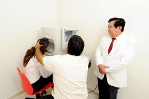 Exámenes oftalmológicos Luis Sócola Vela