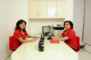 Equipo humano del Centro oftalmológico Luis Sócola Vela